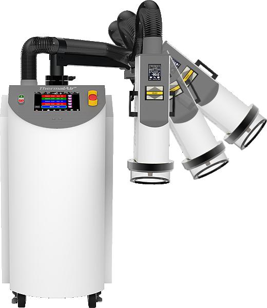 TA1000B w/rack - Temperature Testing System | Temperature Simulation Test Equipment